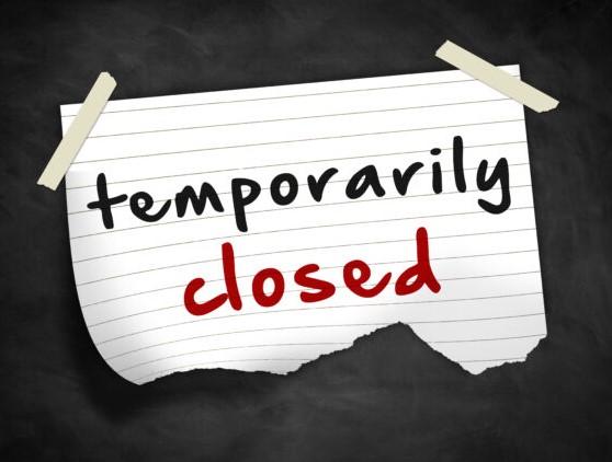 Drop Box Temporarily Closed